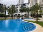 Wohnung Valencia vermieten piscina